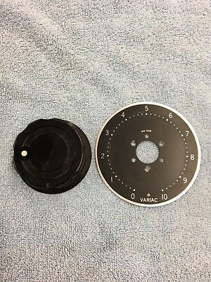 2 7/8 Inch Variac Knob and Scale