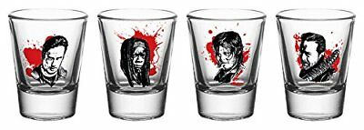 GB eye Ltd The Walking Dead, Characters New, Shot Glasses, Various