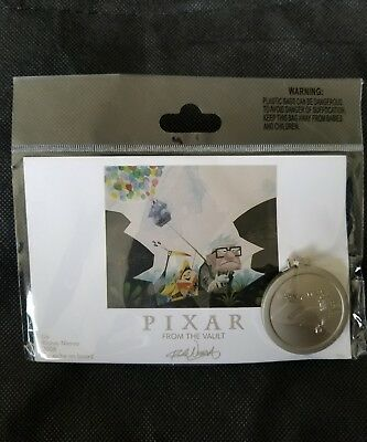 Disney Pixar Party 2016 Up Carl Kevin Doug the Vault Pin & Litho LE 750 Limited