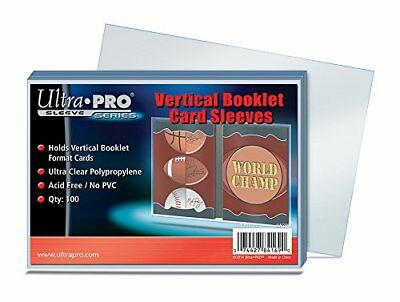 100 Ultra Pro Vertical Booklet Card Sleeves - Hllen - 3 1316 x 5 3364 96.8