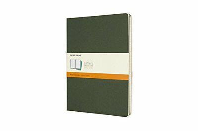 Moleskine Myrtle Green Extra Large Ruled Cahier Journal Set of 3