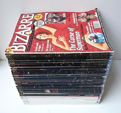 BIZARRE MAGAZINE - Job Lot Bundle Collection -All Issues 1–50 - Oddities Erotica