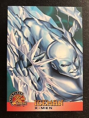 1996 Fleer Marvel X-Men Card #7 Iceman