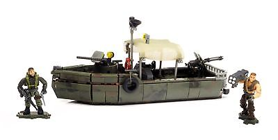 Mattel Mega Bloks DPB56 Call Of Duty - Riverboat Raid, Bau und Konstruktionss...