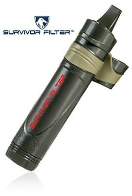 Survivor Filter - Reusable Personal Water Filter with Triple Absolute Filtration