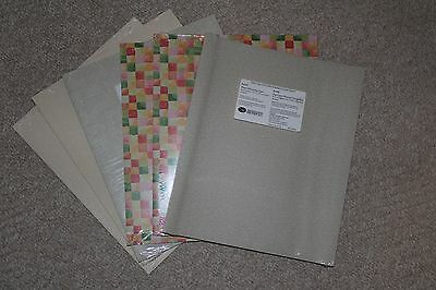 """6 Packages Creative Memories 10 X 12"""" Printed Photo Mounting Paper"""