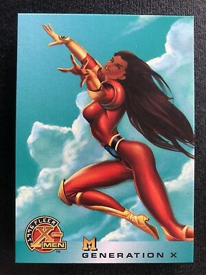 1996 Fleer Marvel X-Men Card #33 M