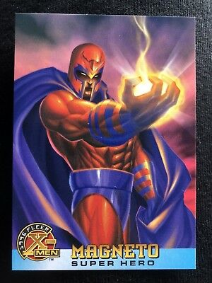 1996 Fleer Marvel X-Men Card #55 Magneto