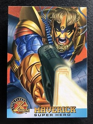 1996 Fleer Marvel X-Men Card #56 Maverick
