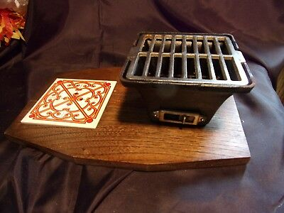 Vintage Anese Mini Hibachi Grill Cast Iron Charcoal Bbq Great Condition