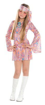 Disco Darling 1960s 1970s Hippie Hippy Go Go Retro Book Week Girls Costume