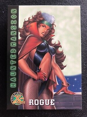 1996 Fleer Marvel X-Men Card #97 Rogue Of The Vampiress