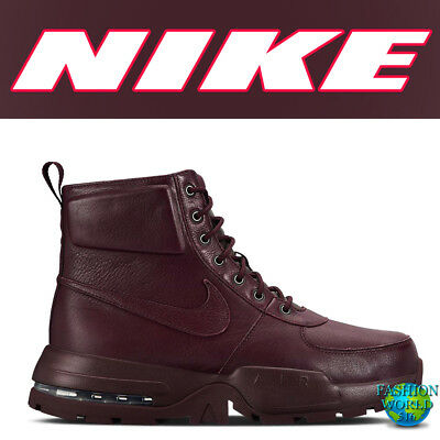 2d6c81cf40 Nike Men's Size 10.5 Air Max Goaterra 2.0 Waterproof Boots Burgundy 916816  601