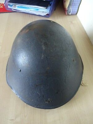 Vintage West German Military Army Combat Head Protector Display Prop Man Cave