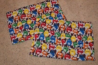 M&M Character Standard Pillow Case