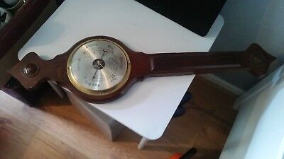 Cracking Large Vintage Banjo Weathermaster Barometer
