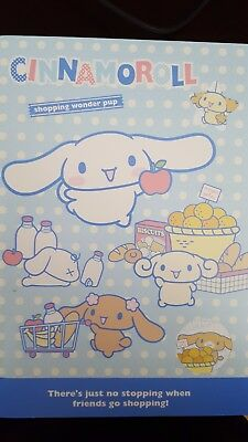 New Sanrio Cinnamoroll Stationary Memo Note Pad Diary Notebook Journal Japan