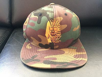 d9a7ab2c5d5 LAST KINGS ORANGE And Camo Hat Snapback    Size adjustable    cotton ...