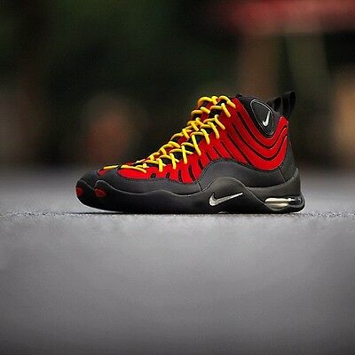 NIKE AIR BAKIN 10 TIM 9 HARDAWAY RED October Max 1 Miami Heat 90 95 ... 9db34f71d
