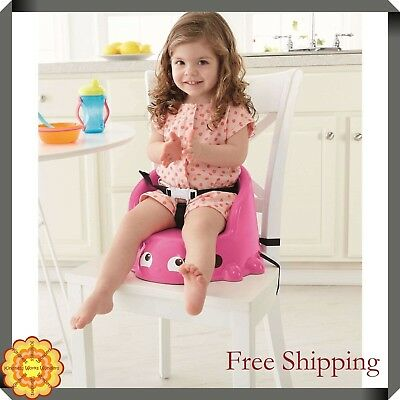 Booster Chair Toddlers Kids Children Safety Straps Fisher-Price Ladybug Seat NEW