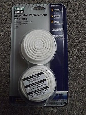 1-4 PK. MSA/Saftey Works Paint, Pesticide Pre-Filters P/N814627 for Respirators