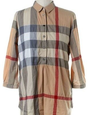 eea8677eed0 AUTHENTIC BURBERRY BRIT Women's Tunic Blouse Shirt SMALL, Romania ...