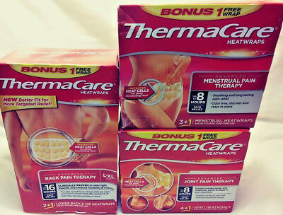 Thermacare Heatwraps Advanced Joint Pain Therapy / Back Pain & Menstrual Pain