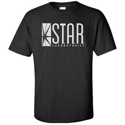STAR Laboratories Mens S.T.A.R. Labs Tee The Flash Barry Allen T Shirt