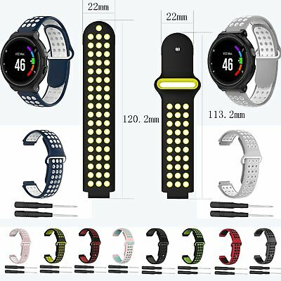 Silicone Watch Band Strap +Tool for Garmin Forerunner 220 230 235 630 620 735XT
