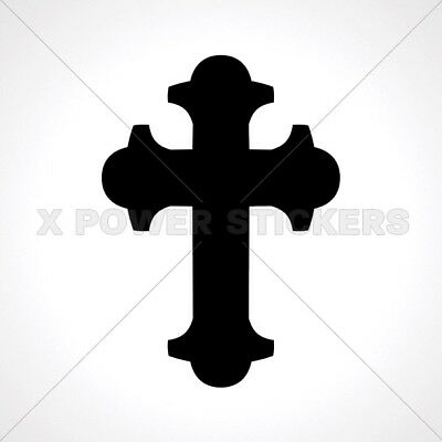 Decals Decal Byzantine Eastern Orthodox Cross Home 0502 03649