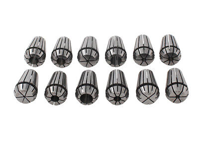 12Pcs ER16 Spring Collet Set For CNC Spindle Engraving and Milling Lathe Tool