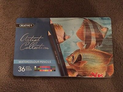 Creative PL Artist Collection Watercolour Pencils 36 Quality Colours