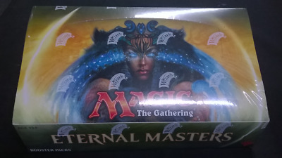 Eternal Masters Sealed Box, Magic the Gathering.