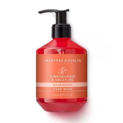 Crabtree & Evelyn Hand Wash 250ml - Pomegranate and Argan Oil