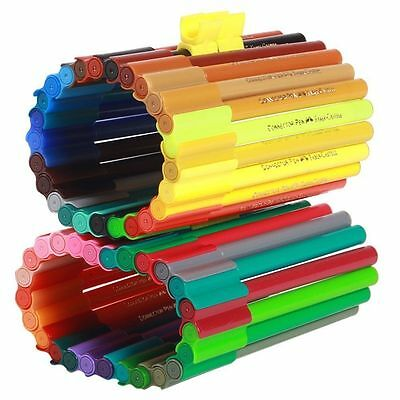 Faber Castell Connector Sketch Pen Set of 50 Colour Colourful Marker