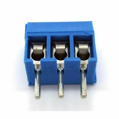 5 X 3-Pin Pitch Screw Terminal Block Connector 5.08mm Panel PCB Mount