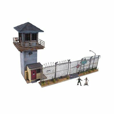 McFarlane Toys Building Sets -The Walking Dead TV Prison Tower  Gate Building