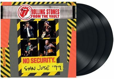The Rolling Stones - From The Vault:No Security San José 99 (3LP Black Vinyl)