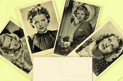 ROSS VERLAG - 1930s Film Star Postcards produced in Germany #9851 to #9996