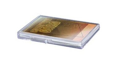 Ultra Pro Hinged Clear Box pour 15 cartes storage cards boîte case holder 430016
