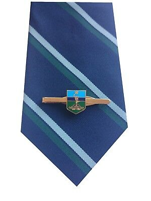 Royal Corps of Signals Tie & Tie Clip Shield Set e027