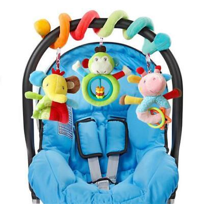 Baby Activity Spiral Hanging Toy for Pushchair Pram Stroller Car Seat Cot Bed T