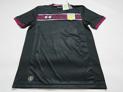 Aston Villa 2017/18 Mens Under Armour Away Shirt (Medium)