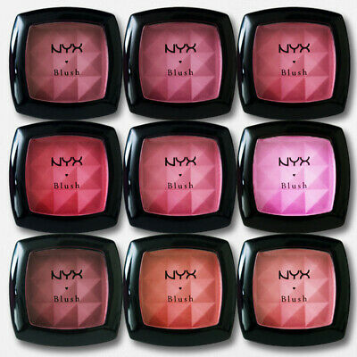 NYX Cosmetics Powder Blush Makeup, Choose your Colour .014 oz NEW