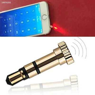 Wireless Flexible Metal Dust Plug Infrared Transmitter Compact Pad B09D432