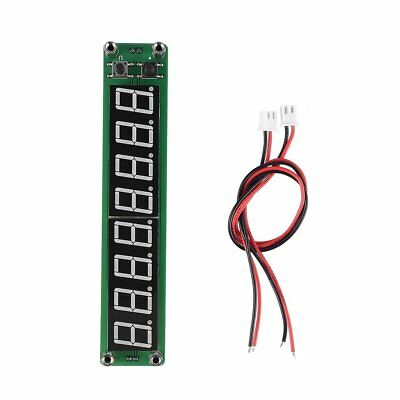 PLJ-8LED-H 8 Digit 0.1~1000MHz RF Signal Frequency Counter Meter Tester LED VI