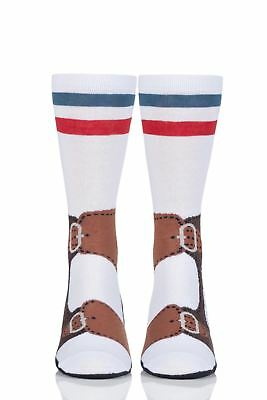 Mens and Ladies 1 Pair Ginger Fox Socks and Sandals Novelty Cotton Socks