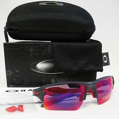 ce21a07569 OAKLEY Prizm Road Flak 2.0 XL Matte Grey Smoke   Prizm Road Sunglasses  OO9188-04