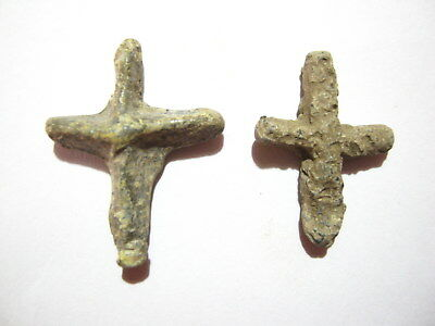 Byzantine Lead Cross 6th-7th century AD - Lot of 2