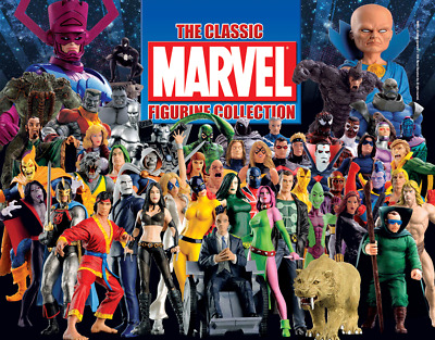 MARVEL Classic Eaglemoss Figurine Collection / 1er édition . new or very good